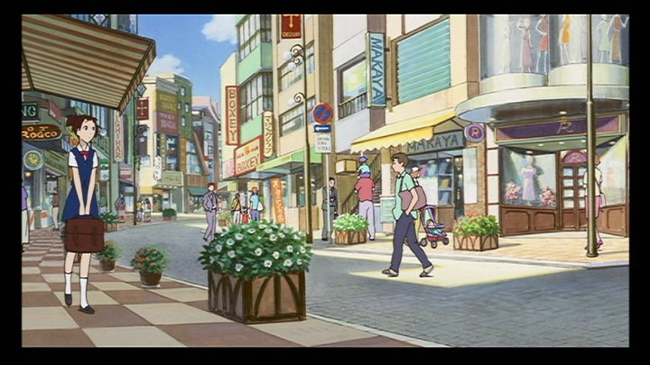 Picture of the town that featured in the Studio Ghibli film 'the cat returns'.