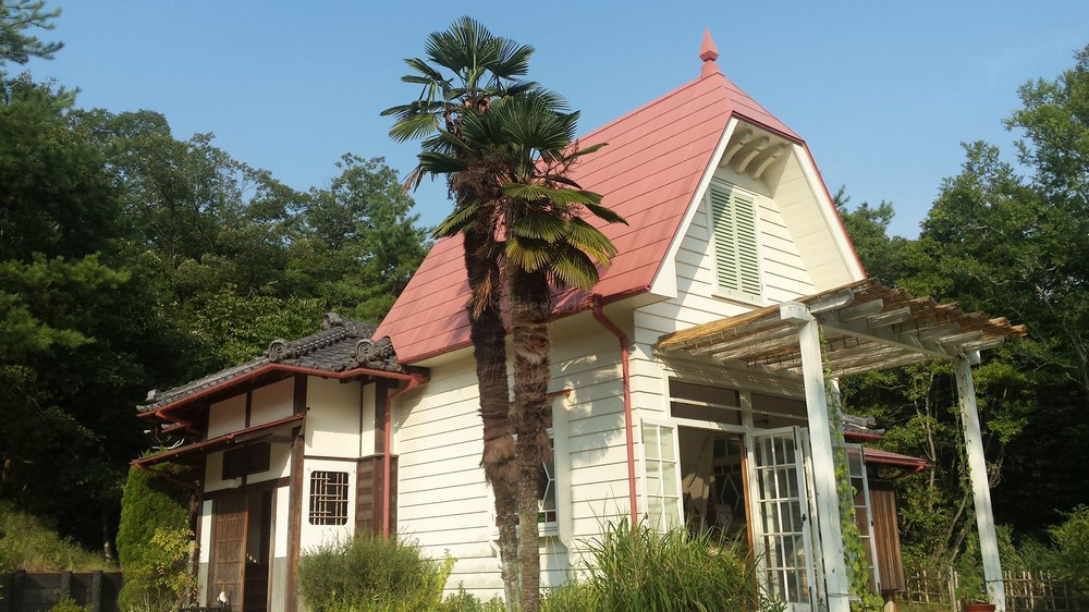 Satsuki and Mei's House from the Studio Ghibli film My Neighbor Totoro. Featured in real life.