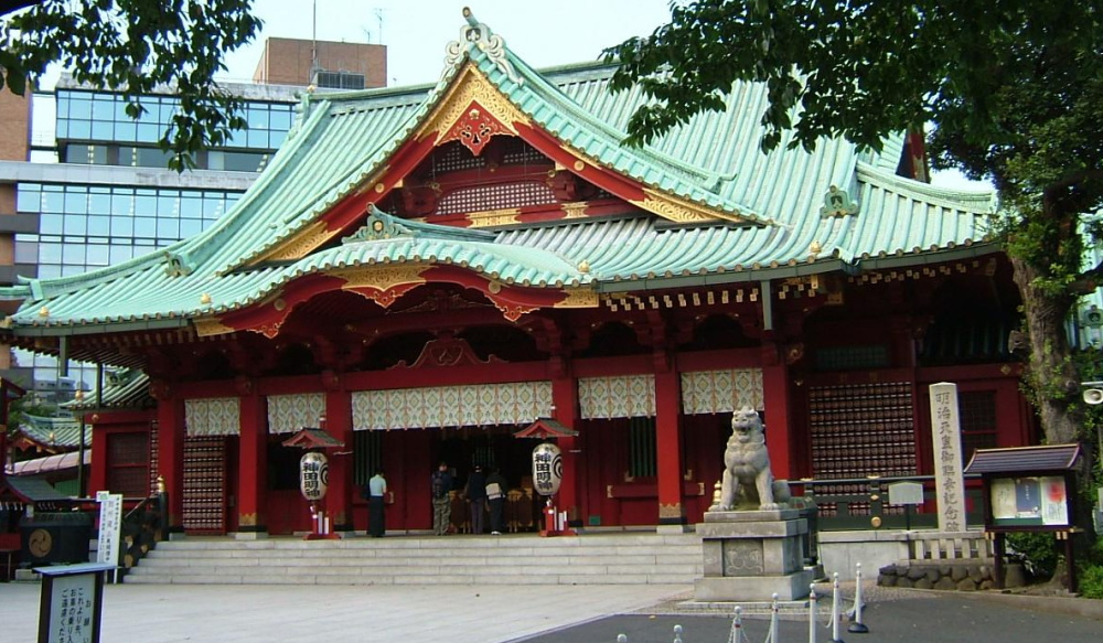 Kanda Shrine in real life