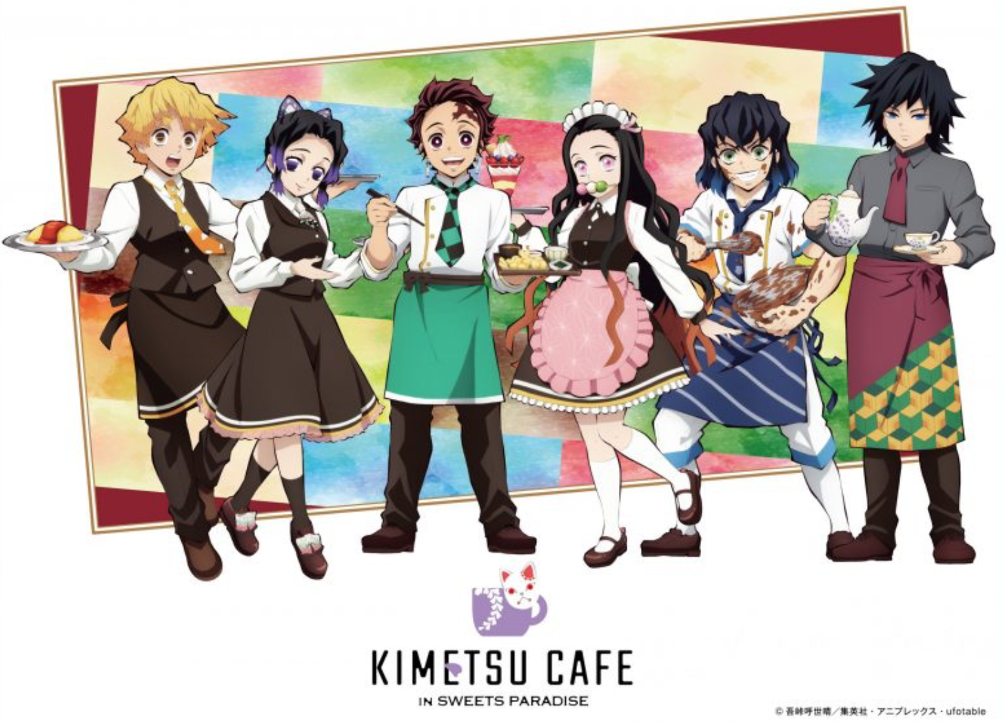 Anime and Character Cafes in Tokyo 2020