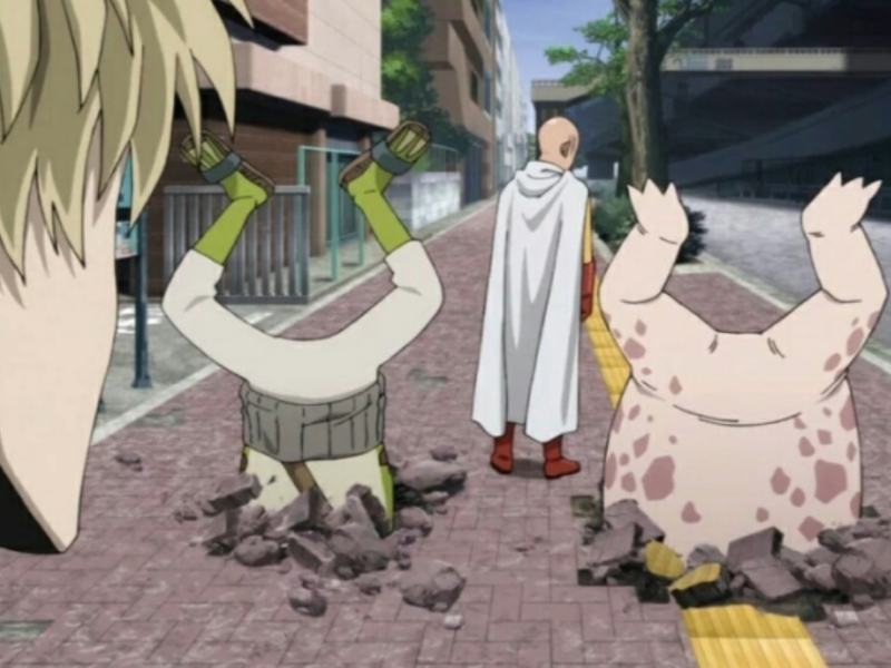 'One Punch Man' Real Life Locations in Tokyo